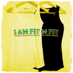 I AM FIT ladies vest